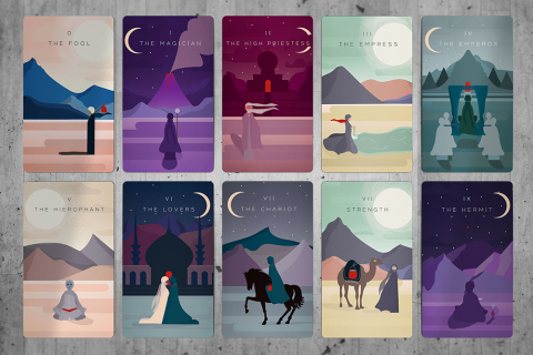 Jessica Haines-Henderson Wild Salt Tarot Cards