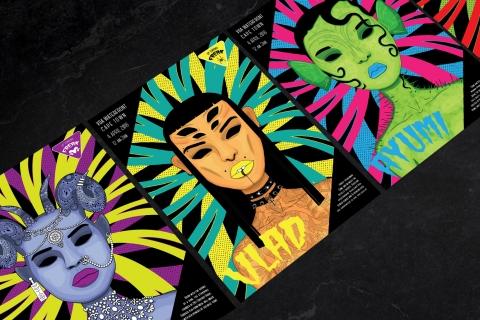 Shannon van Schalkwyk Illustration Posters